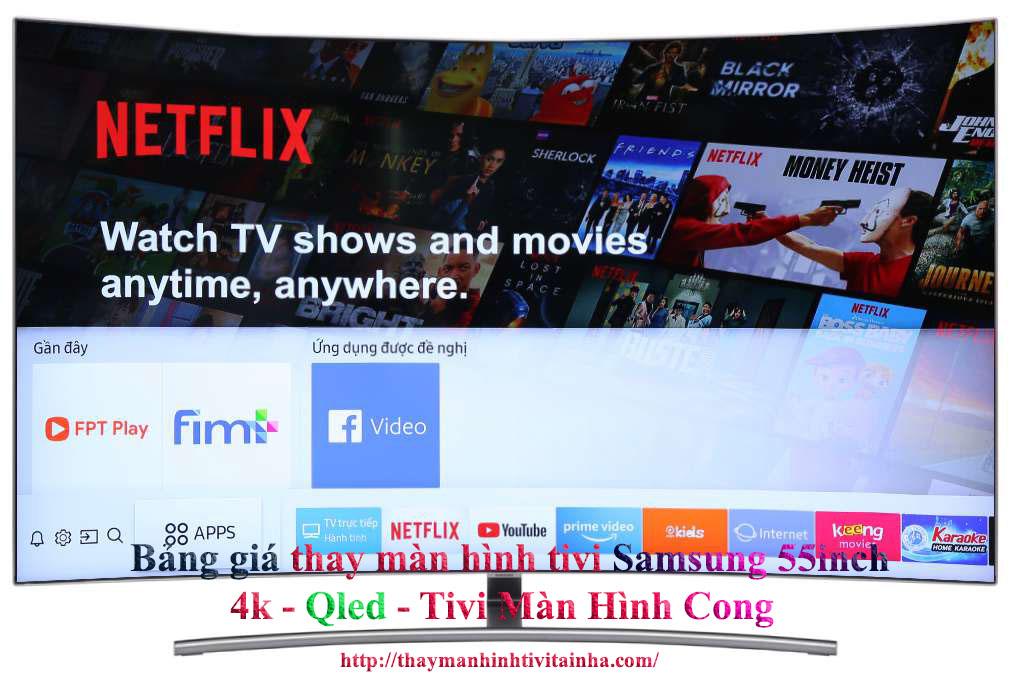 giá thay màn hình tivi samsung 65inch tại nhà